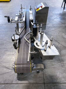 Beverage Labeler, End View