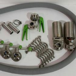 Hoses, Clamps, Valves and Filters for Cleaning in Place