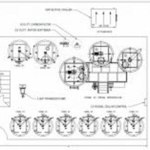 Custom Brewery Plans and Engineering Diagram