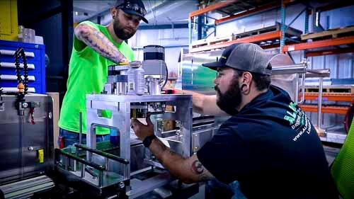Canning Line Assembly workers